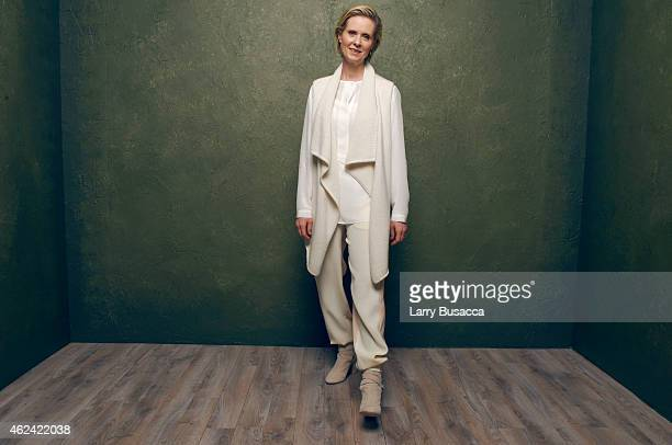 Actress Cynthia Nixon from James White poses for a portrait at the Village at the Lift Presented by McDonald's McCafe during the 2015 Sundance Film...