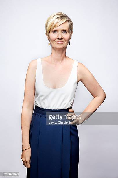 Actress Cynthia Nixon from the film A Quiet Passion poses for a portraits at the Toronto International Film Festival for Los Angeles Times on...