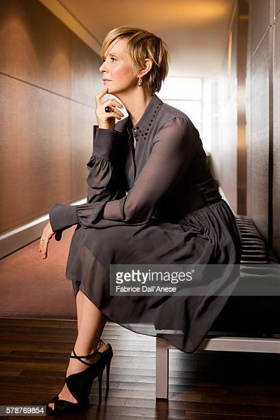 Actress Cynthia Nixon is photographed for GQ Germany on February 19 2016 in Berlin Germany