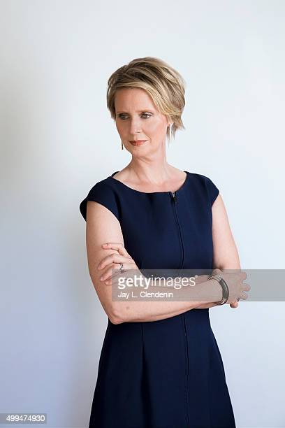 Actress Cynthia Nixon is photographed for Los Angeles Times on October 1 2015 in Los Angeles California PUBLISHED IMAGE CREDIT MUST READ Jay L...