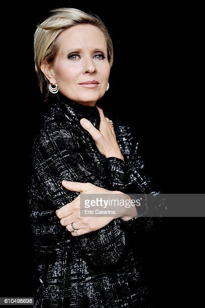 Actress Cynthia Nixon is photographed for Self Assignment on September 17 2016 in San Sebastian Spain