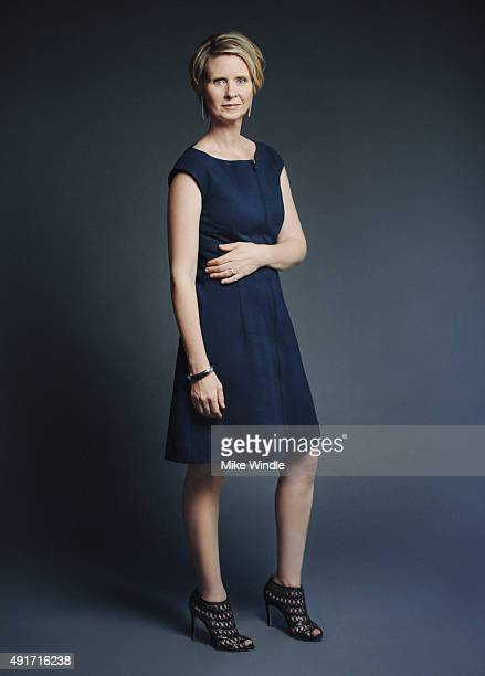 Actress Cynthia Nixon of 'James White' poses for a Portrait Session on October 1, 2015 in Beverly Hills, California.