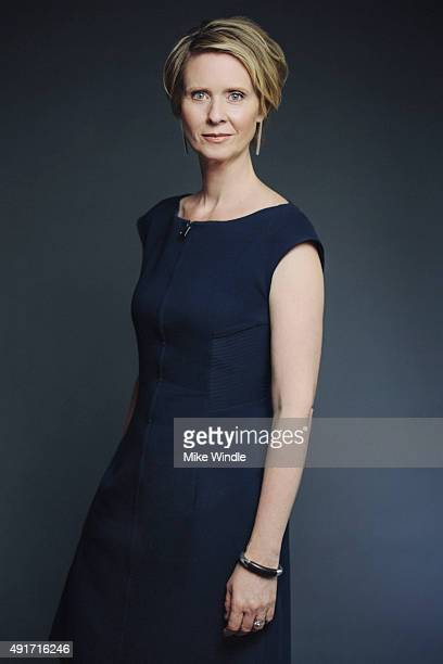 Actress Cynthia Nixon of 'James White' poses for a Portrait Session on October 1 2015 in Beverly Hills California