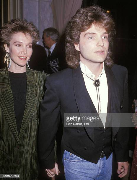 Actress Cynthia Rhodes and musician Richard Marx attend the Sixth Annual ASCAP Pop Music Awards on May 15, 1989 at Beverly Wilshire Hotel in Beverly...