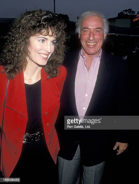 Actress Cynthia Sikes and director Bud Yorkin attend the Arthur 2 On the Rocks Westwood Premiere on June 22 1988 at Mann Bruin Theatre in Westwood...