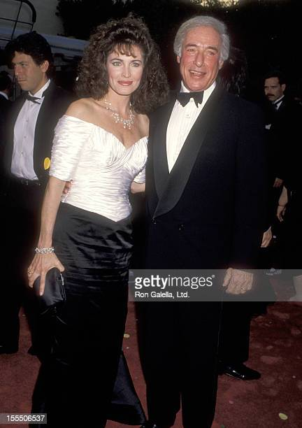 Actress Cynthia Sikes and director Bud Yorkin attend the Celebration of Tradition A Gala Event Gathering Warner Bros Stars on June 2 1990 at Warner...
