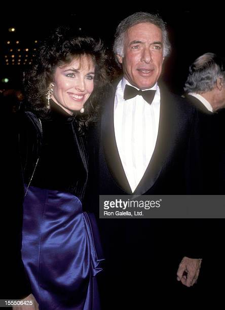 Actress Cynthia Sikes and director Bud Yorkin attend the Crimes of the Hearts Century City Premiere on December 3 1986 at Plitt's Century Plaza...