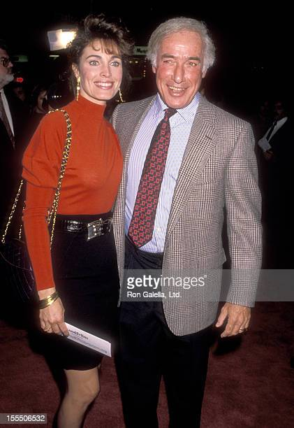 Actress Cynthia Sikes and director Bud Yorkin attend the Goodfellas Westwood Premiere on September 17 1990 at Mann Bruin Theatre in Westwood...