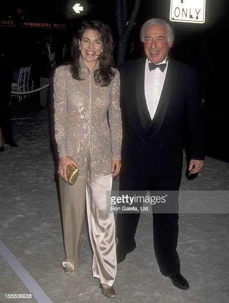 Actress Cynthia Sikes and director Bud Yorkin attend the Grand Opening of the New and Improved Museum of Television and Radio on March 17 1996 at the...