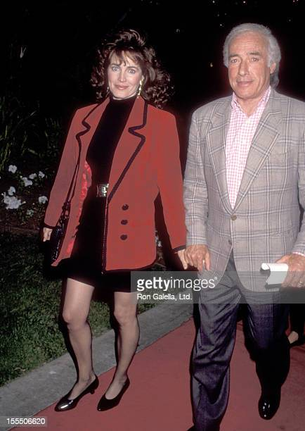Actress Cynthia Sikes and director Bud Yorkin attend the Robin Hood Prince of Thieves Premiere Party on June 10 1991 at Westwood Marquis Hotel in...