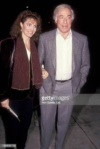 Actress Cynthia Sikes and director Bud Yorkin attend the Screening of NBC's Original Movie Brotherhood of the Rose on December 12 1989 at Fine Arts...