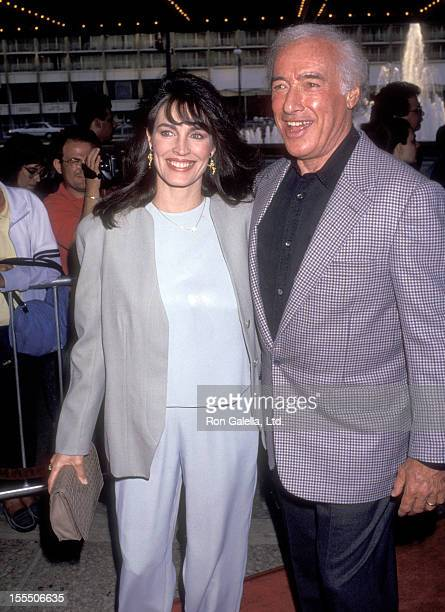 Actress Cynthia Sikes and director Bud Yorkin attend the Sleepless in Seattle Century City Premiere on June 23 1993 at Cineplex Odeon Century Plaza...