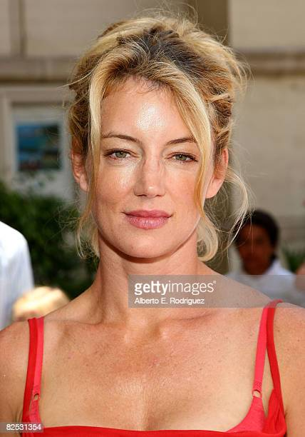 Actress Cynthia Watros arrives at the DVD launch of Walt Disney's 'Little Mermaid Ariel's Begining held at the Avalon Casino on Catalina Island on...