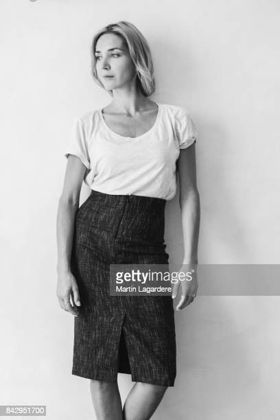 Actress Cyrielle Debreuil is photographed for Self Assignment on June 28 2017 in Paris France