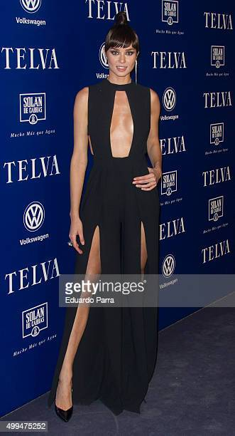 Actress Dafne Fernandez attends 'T de Moda' awards by Telva Magazine photocall at Royal theatre on December 1 2015 in Madrid Spain