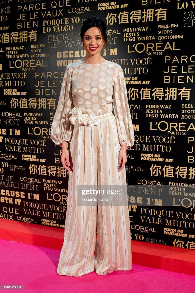 Celebrities - Day 4 - Mercedes Benz Fashion Week Madrid Autumn / Winter 2017
