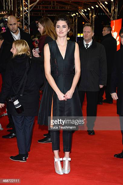 Actress Daisy Bevan attends 'The Two Faces of January' premiere during 64th Berlinale International Film Festival at Zoo Palast on February 11 2014...