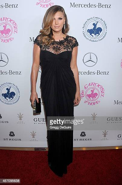 Actress Daisy Fuentes arrives at the 2014 Carousel Of Hope Ball Presented By MercedesBenz at The Beverly Hilton Hotel on October 11 2014 in Beverly...