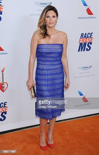 Actress Daisy Fuentes arrives at the 20th Annual Race To Erase MS Gala 'Love To Erase MS' at the Hyatt Regency Century Plaza on May 3 2013 in Century...