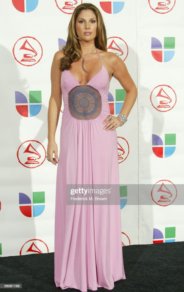 Actress Daisy Fuentes arrives at the 6th Annual Latin Grammy Awards at the Shrine Auditorium on November 3, 2005 in Los Angeles, California.