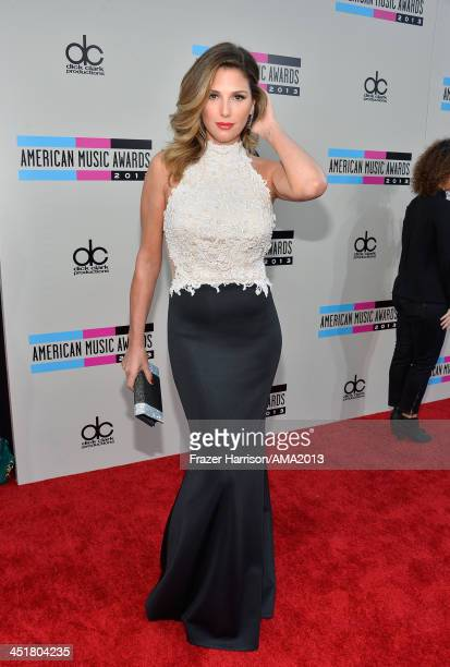 Actress Daisy Fuentes attends the 2013 American Music Awards at Nokia Theatre L.A. Live on November 24, 2013 in Los Angeles, California.
