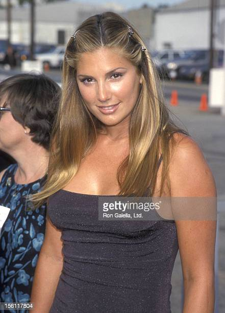 Actress Daisy Fuentes attends the First Annual Teen Choice Awards on August 1 1999 at The Barker Hangar at the Santa Monica Air Center in Santa...