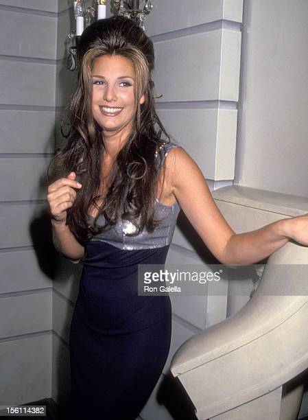 Actress Daisy Fuentes attends the 'National Breast Cancer Coalition Dinner Honoring Ronald o Perelman' on November 14 19914 at Pierre Hotel in New...
