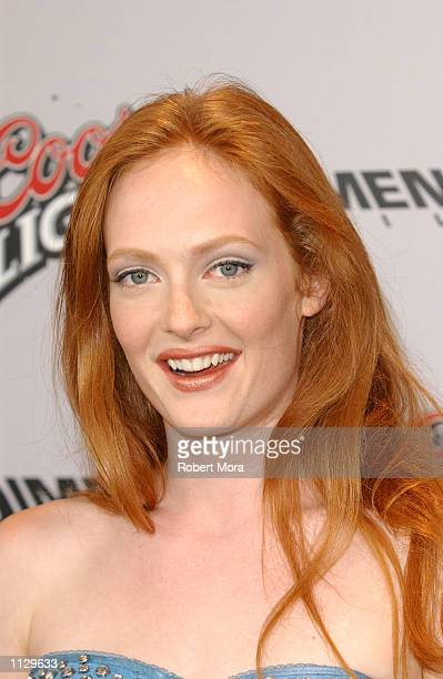 Actress Daisy McCrackin attends the premiere of Halloween Resurrection at the Mann Festival Theater on July 1 2002 in Westwood California The film...