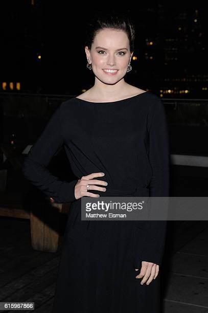 Actress Daisy Ridley attends Sony Pictures Classics and The Cinema Society screening of 'The Eagle Huntress' after party at Jimmy at The James Hotel...
