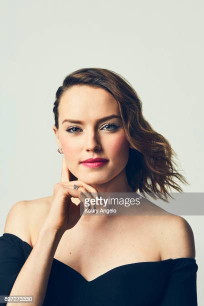 Actress Daisy Ridley is photographed for People Magazine on July 25, 2017 at D23 Expo in Los Angeles, California.