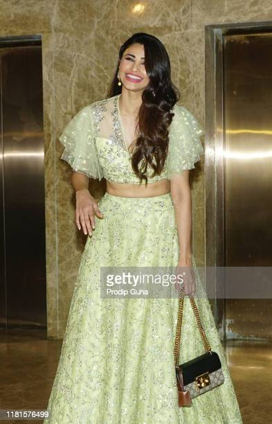 Actress Daisy Shah attend the Film Producer Ramesh Taurani host a pre Dewali celebration party on October 162019 in Mumbaiindia