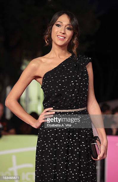 Actress Dajana Roncione attends the 2012 RomaFictionFest Closing Cerimony at Auditorium Parco della Musica on October 5 2012 in Rome Italy