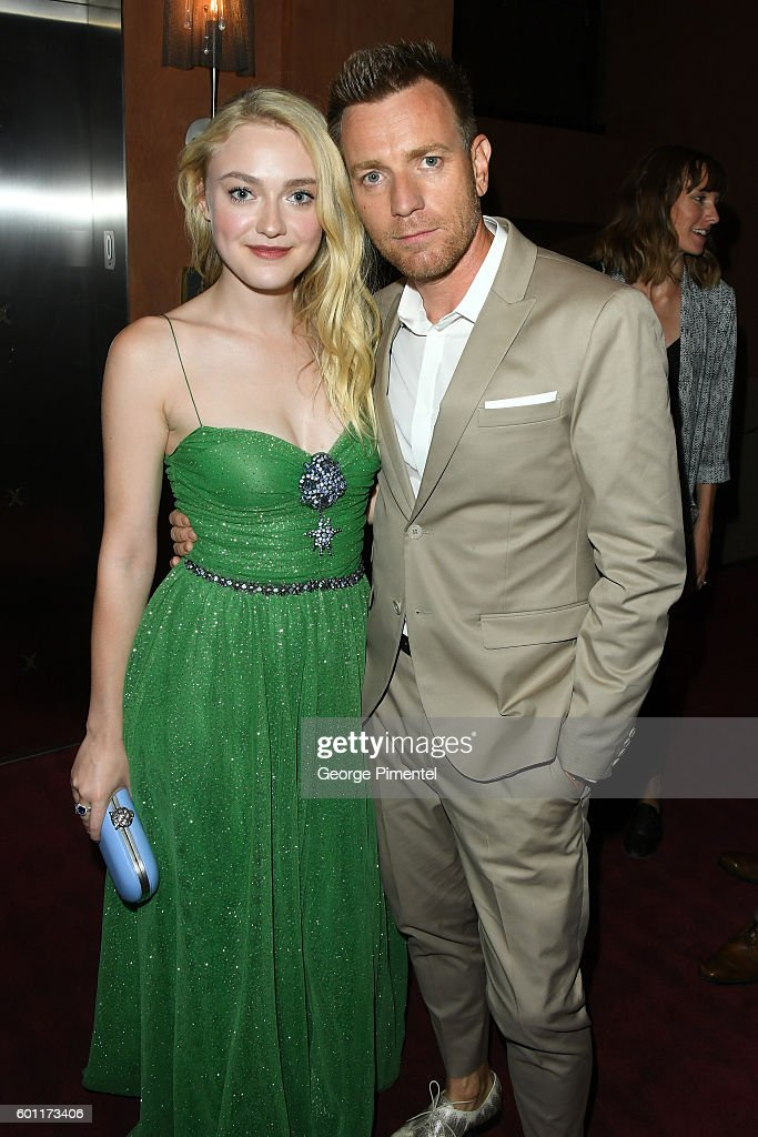 Actress Dakota Fanning and Director/Actor Ewan McGregor attend the 'American Pastoral' during the 2016 Toronto International Film Festival premiere at Princess of Wales Theatre on September 9, 2016 in Toronto, Canada.