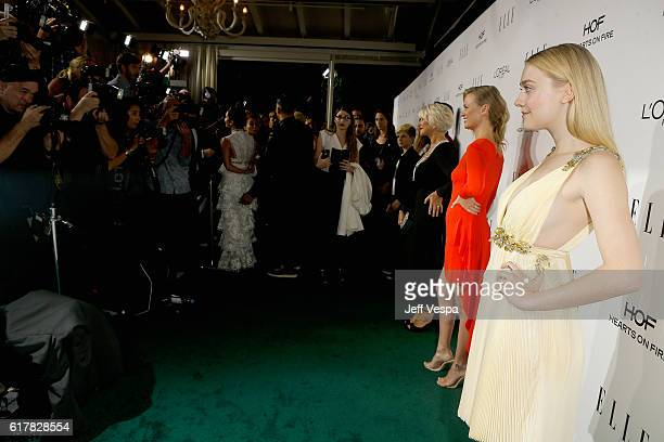 Actress Dakota Fanning attends the 23rd Annual ELLE Women In Hollywood Awards at Four Seasons Hotel Los Angeles at Beverly Hills on October 24 2016...
