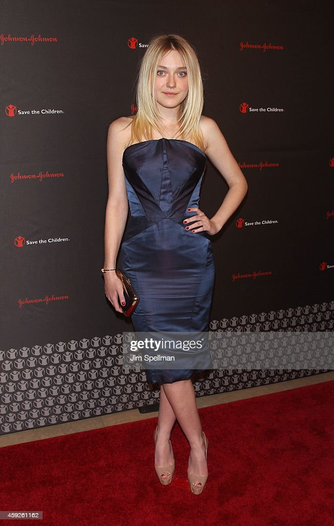 Actress Dakota Fanning attends the 2nd annual Save the Children Illumination Gala at the Plaza Hotel on November 19, 2014 in New York City.