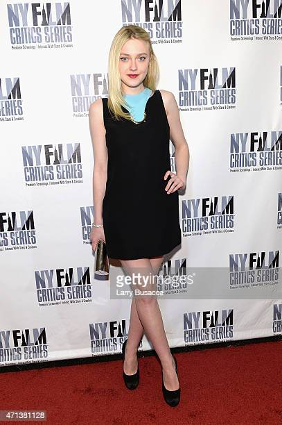 Actress Dakota Fanning attends the New York Film Critic Series premiere of Every Secret Thing at AMC Empire 25 theater on April 27 2015 in New York...