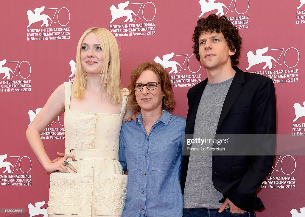 Actress Dakota Fanning, director Kelly Reichardt and actorJesse Eisenberg attend the 'Night Moves' Photocall during the 70th Venice International Film Festival at the Palazzo del Casino on August 31, 2013 in Venice, Italy.