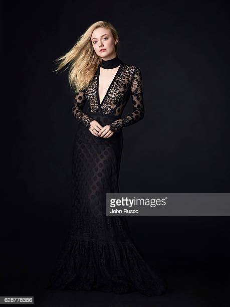 Actress Dakota Fanning is photographed for American Way Magazine on June 1 2016 in Los Angeles California