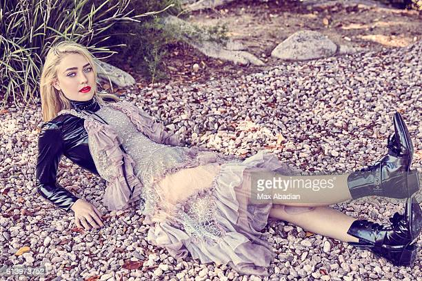Actress Dakota Fanning is photographed for Elle Canada on August 24 2016 in Los Angeles California PUBLISHED IMAGE