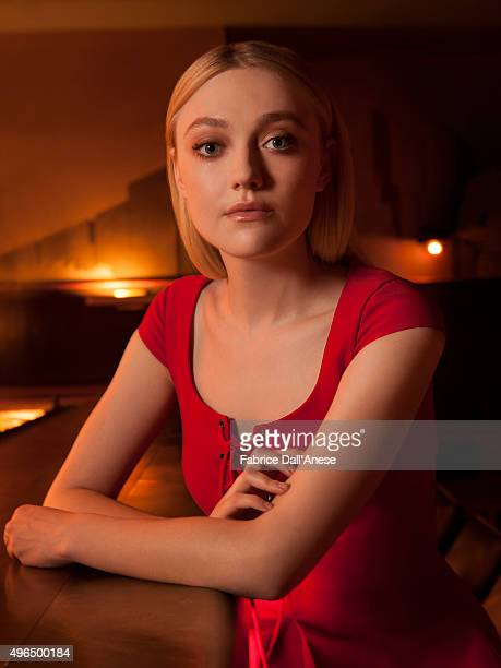 Actress Dakota Fanning is photographed for Vanity Faircom on April 15 2015 in New York