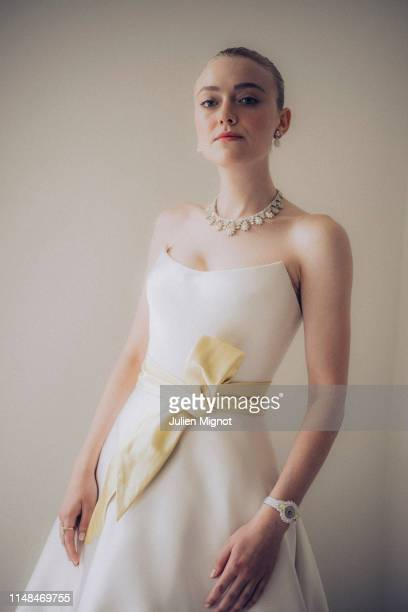 Actress Dakota Fanning poses for a portrait on May 21 2019 in Cannes France