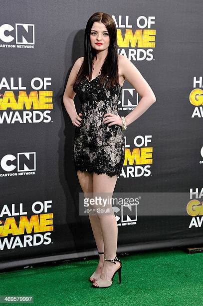 Actress Dakota Hood attends Cartoon Network's fourth annual Hall of Game Awards at Barker Hangar on February 15 2014 in Santa Monica California