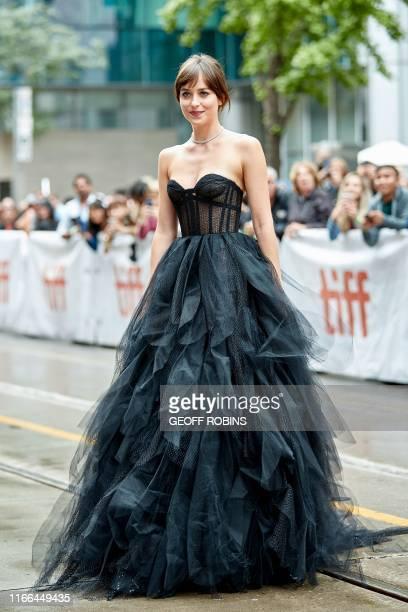 "Actress Dakota Johnson arrives for the premiere of ""The Friend"" during the 2019 Toronto International Film Festival Day 2, on September 6 in Toronto,..."