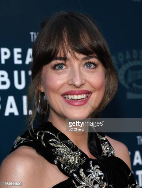 Actress Dakota Johnson attends the LA Special Screening of Roadside Attractions' 'The Peanut Butter Falcon' at ArcLight Hollywood on August 01 2019...