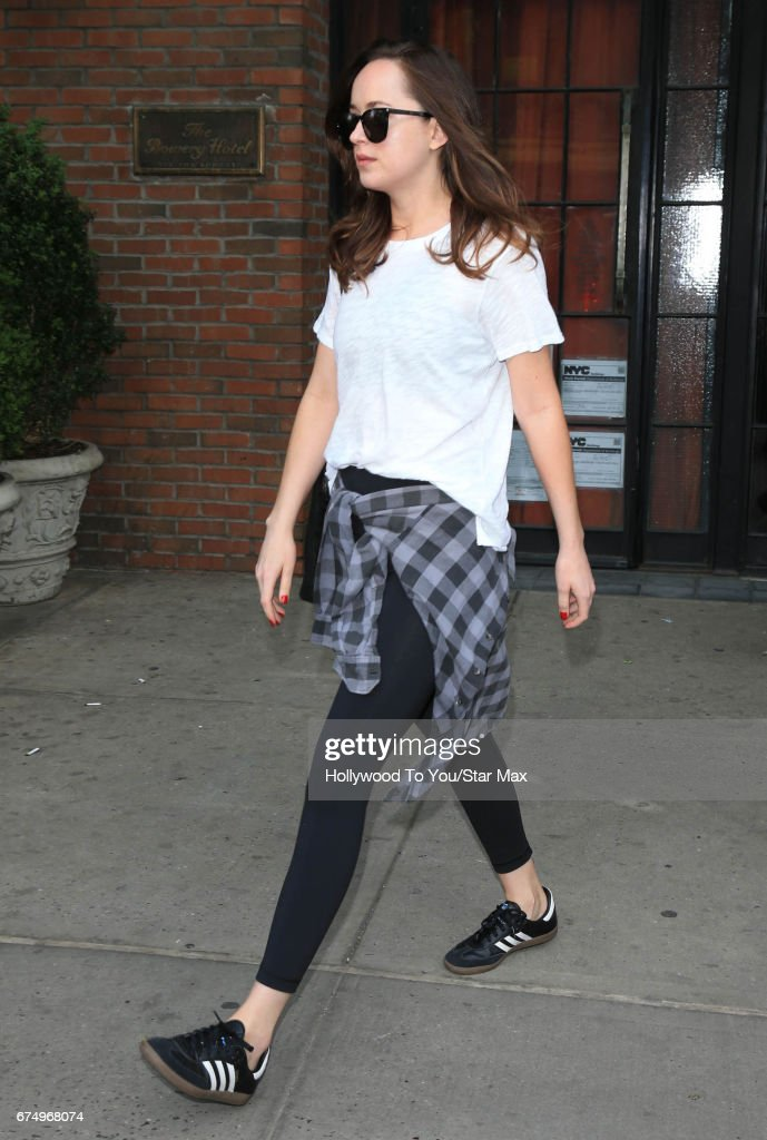 Celebrity Sightings in New York City - April 29, 2017 : News Photo