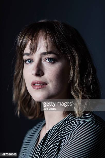 Actress Dakota Johnson of 'Black Mass' poses for a portrait at the 2015 Toronto Film Festival at the TIFF Bell Lightbox on September 15 2015 in...