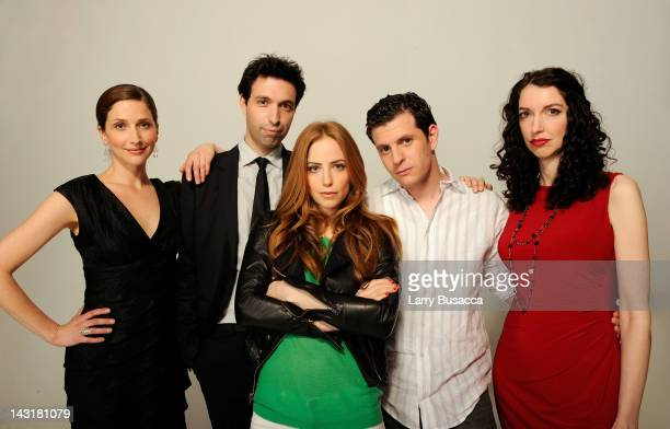Actress Dakota Shepard filmmaker Alex Karpovsky actress Jaime Ray Newman actor Dennis Staroselsky and actress Amanda Good Hennessey of the film...