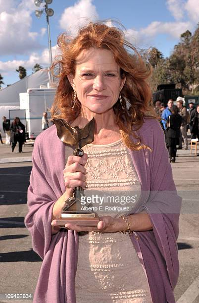Actress Dale Dickey winner of the Best Supporting Female award for 'Winter's Bone' attends the 2011 Film Independent Spirit Awards at Santa Monica...