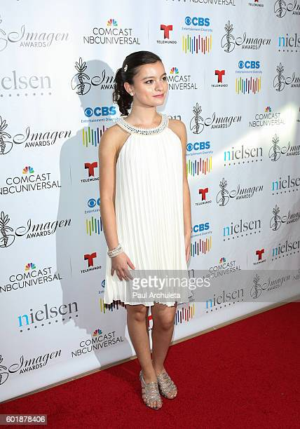 Actress Dalila Bela attends the 31st Annual Imagen Awards at The Beverly Hilton Hotel on September 9 2016 in Beverly Hills California