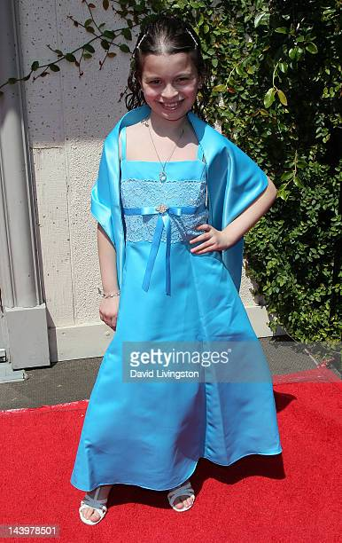 Actress Dalila Bela attends the 33rd Young Artist Awards at the Sportmen's Lodge on May 6 2012 in Studio City California